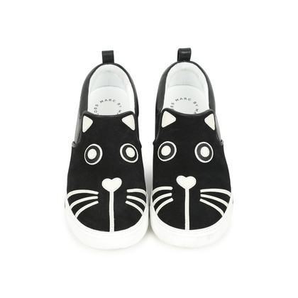 Authentic Second Hand Marc By Marc Jacob Friends of Mine Cat Slip Ons (PSS-503-00011)