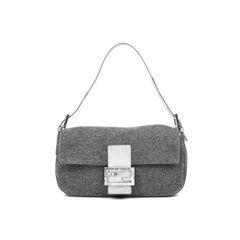 Wool Baguette Bag