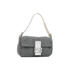 Fendi wool baguette bag 2?1529555449