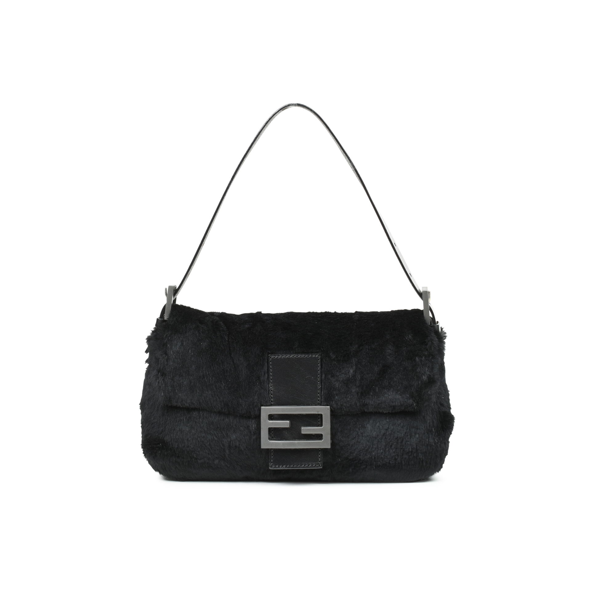 df11665852eb Authentic Second Hand Fendi Fur Baguette Bag (PSS-483-00008)