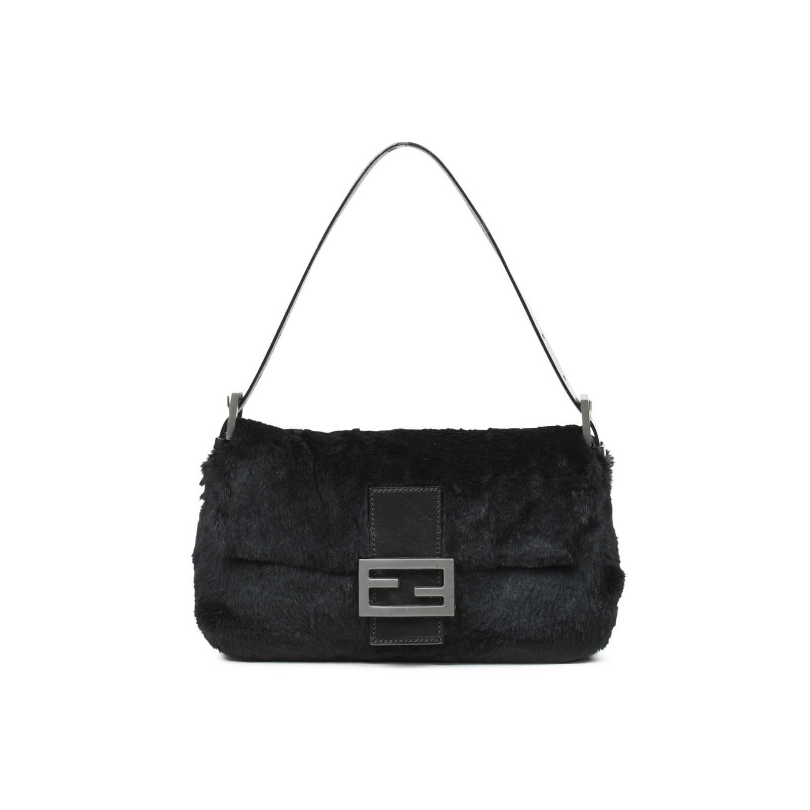 9e6eac1d60d4 Authentic Second Hand Fendi Fur Baguette Bag (PSS-483-00008) - Thumbnail ...