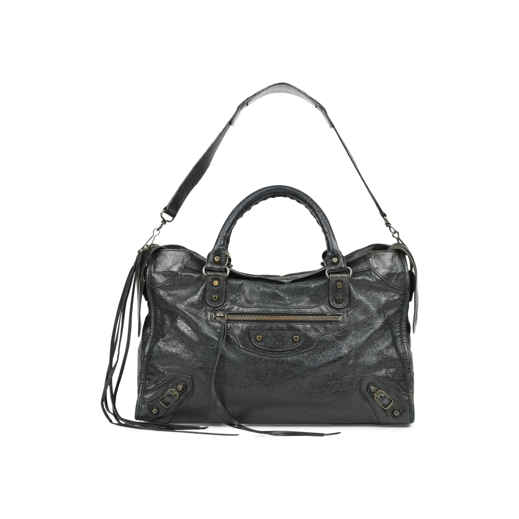 89682b91fda Authentic Second Hand Balenciaga Motorcycle City Bag (PSS-517-00001) - THE  FIFTH COLLECTION