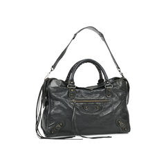 Balenciaga motorcycle city bag black 2?1529557313