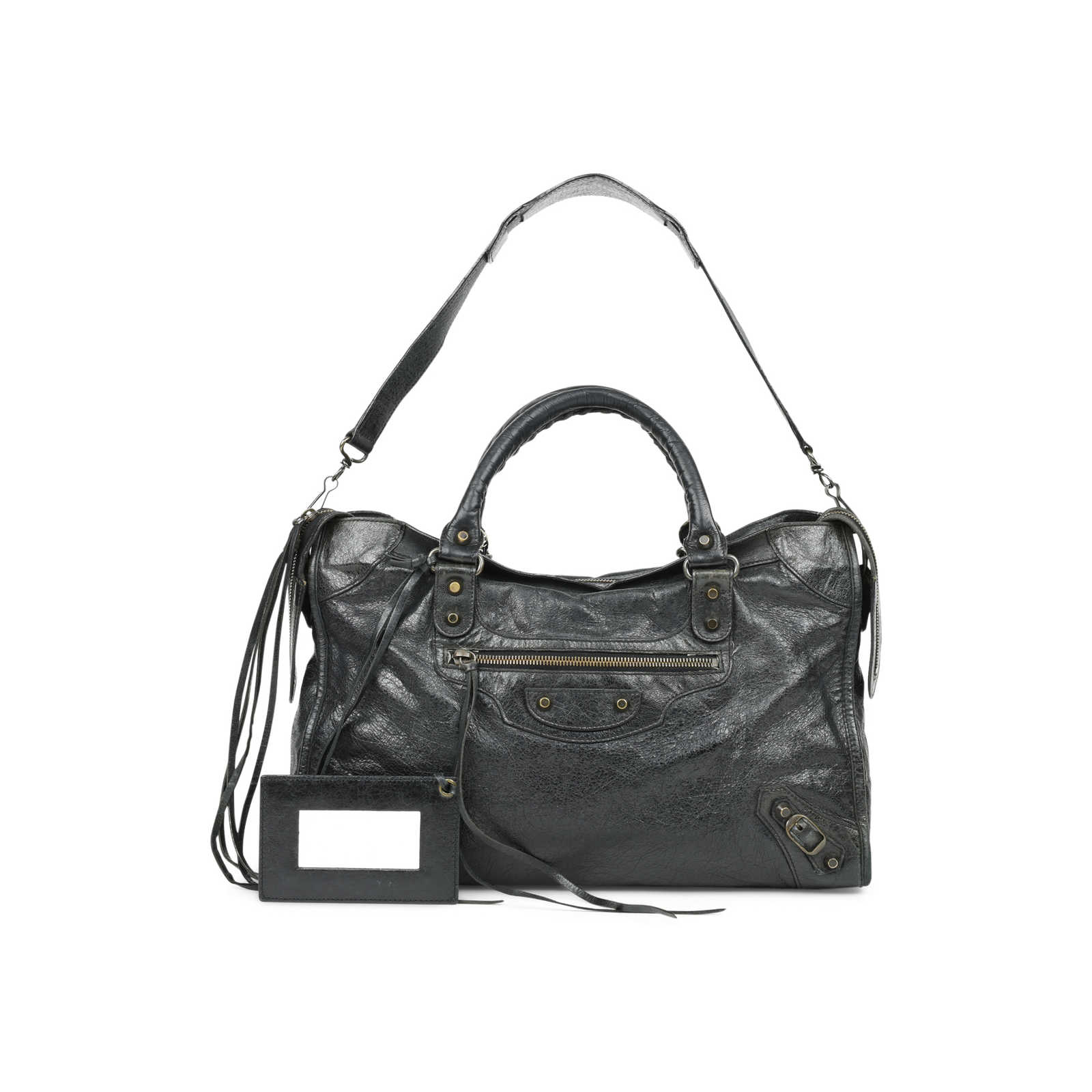 9ab08c5c5d070c ... Authentic Second Hand Balenciaga Motorcycle City Bag (PSS-517-00001) -  Thumbnail ...