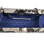 Authentic Second Hand Rebecca Minkoff Fling Python Embossed Clutch (PSS-517-00002) - Thumbnail 5