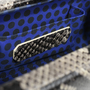 Authentic Second Hand Rebecca Minkoff Fling Python Embossed Clutch (PSS-517-00002) - Thumbnail 6