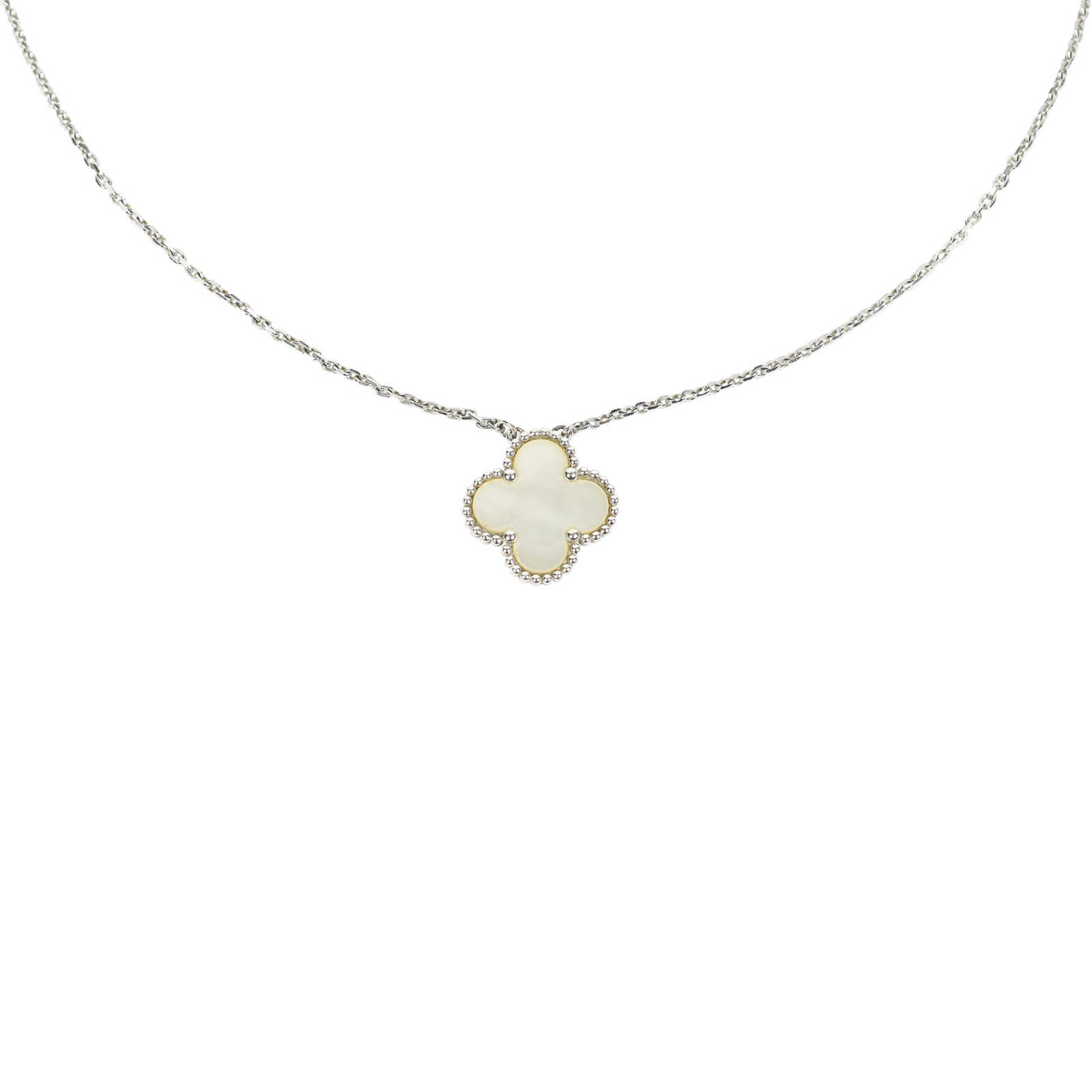 fb53b620f2668 Authentic Second Hand Van Cleef and Arpels Vintage Alhambra Pendant (PSS-517-00006  ...