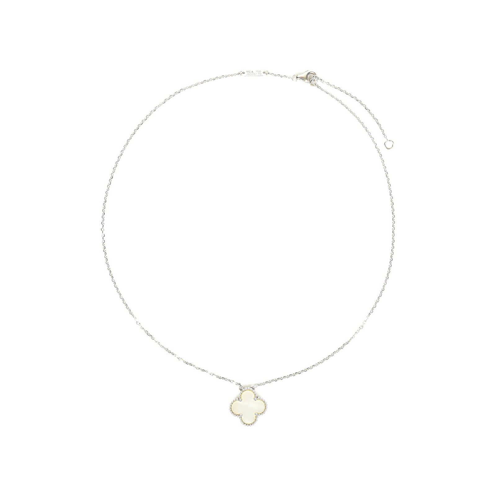 5083b3ca9141f ... Authentic Second Hand Van Cleef and Arpels Vintage Alhambra Pendant (PSS-517-00006  ...