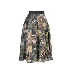 Donna karan abstract midi skirt 2?1529898752