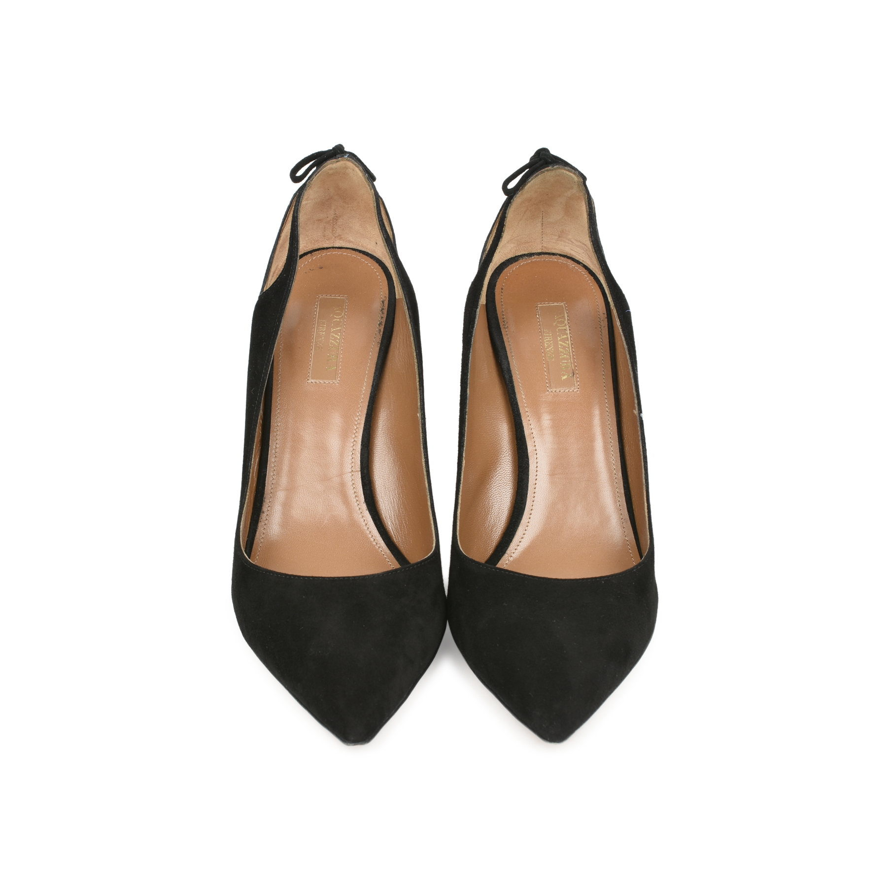 506dbde9790d Authentic Second Hand Aquazzura Forever Marilyn 85 Suede Pumps  (PSS-470-00057)