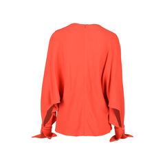 Stella mccartney red cady blouse 2?1530079168