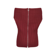 Chanel off shoulder knit top 2?1530079371