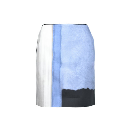 Authentic Second Hand Elie Tahari Printed Skirt (PSS-486-00004)