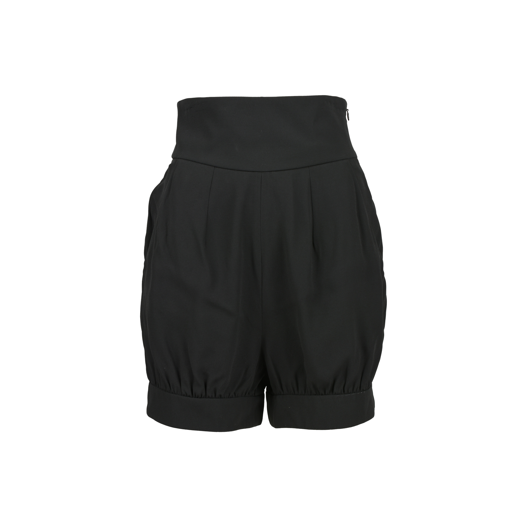 47f0bbf19b7 Authentic Second Hand Yves Saint Laurent High-Waisted Shorts  (PSS-486-00011) - THE FIFTH COLLECTION