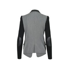 Cut 25 leather trimmed blazer 2?1530088693