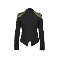 Elizabeth and james embellished shoulder blazer 2?1530088864