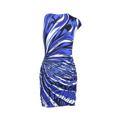 Emilio pucci printed dress blue 2?1530160729