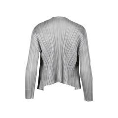 Pleats please open cardigan 2?1530160918