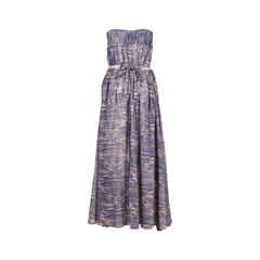 Zimmermann strapless printed dress 2?1530161365