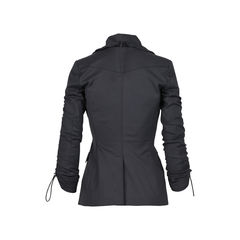 Burberry ruched sleeved blazer 2?1530161394