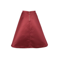 Rochas satin flared skirt 2?1530516678