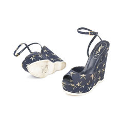 Yves saint laurent starfish wedge sandals 2?1530517165