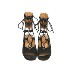 Lace up Suede Gladiator Sandals