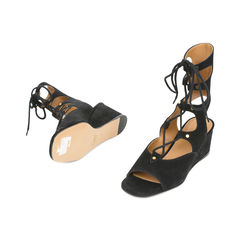 Chloe lace up suede gladiator sandals 2?1530522818