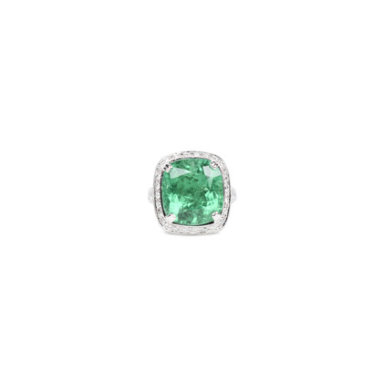 Unbranded Colombian Emerald Ring