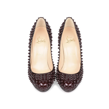 Authentic Second Hand Christian Louboutin Neofilo Spike Pumps (PSS-513-00032)