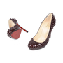 Authentic Second Hand Christian Louboutin Neofilo Spike Pumps (PSS-513-00032) - Thumbnail 1