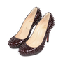 Authentic Second Hand Christian Louboutin Neofilo Spike Pumps (PSS-513-00032) - Thumbnail 3