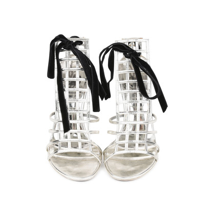 Authentic Pre Owned Yves Saint Laurent Cage Sandals (PSS-513-00037)