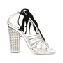 Authentic Pre Owned Yves Saint Laurent Cage Sandals (PSS-513-00037) - Thumbnail 4