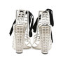 Authentic Pre Owned Yves Saint Laurent Cage Sandals (PSS-513-00037) - Thumbnail 5