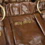 72a0f8a9a760 ... Authentic Pre Owned Miu Miu Vitello Lux Satchel (PSS-513-00015) ...