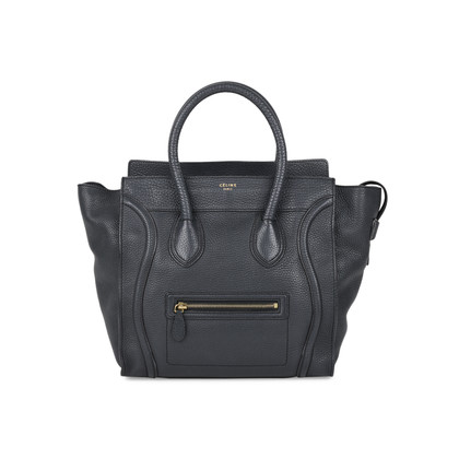Authentic Second Hand Céline Mini Luggage Tote (PSS-513-00016)