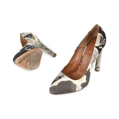 Dries van noten camo print snakeskin pumps 2?1530808554