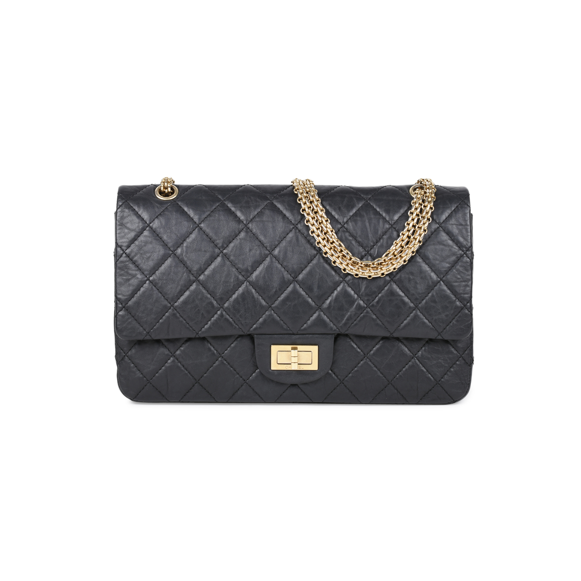 a061a408c3a13d Authentic Second Hand Chanel Maxi 2.55 Reissue (PSS-513-00010) | THE FIFTH  COLLECTION