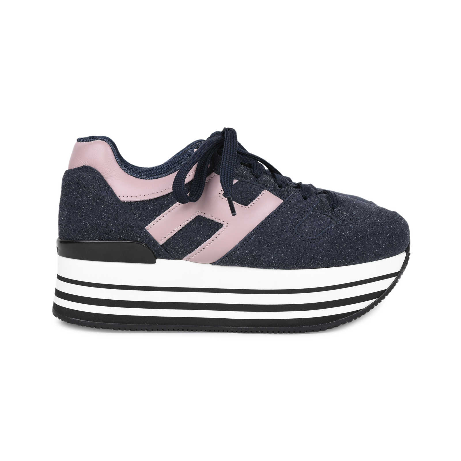 163a77eed5 ... Authentic Second Hand Hogan Maxi 222 Platform Sneakers (PSS-200-01521)  ...