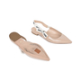 Authentic Pre Owned Christian Dior J'Adior Patent Leather Slingback Flats (PSS-200-01524) - Thumbnail 2
