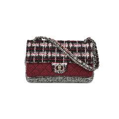 Mix Tweed Flap Bag