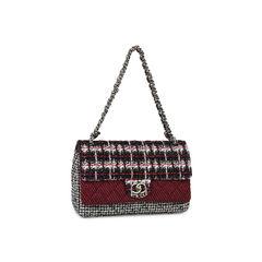 Chanel tweed flap bag 2?1531213506