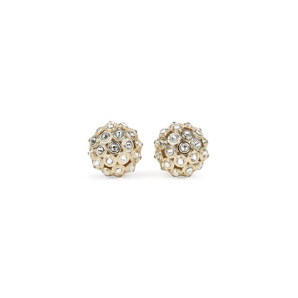 Authentic Pre Owned Christian Dior Crystal Tribales Earrings (PSS-200-01517)