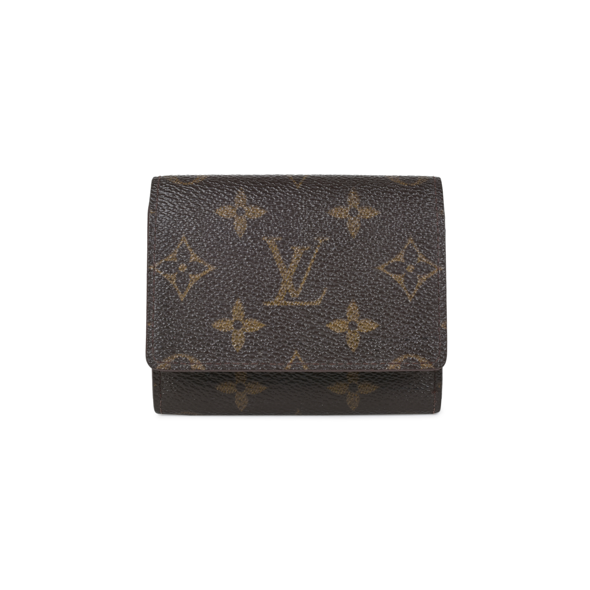 Authentic Pre Owned Louis Vuitton Monogram Business Card Holder Pss