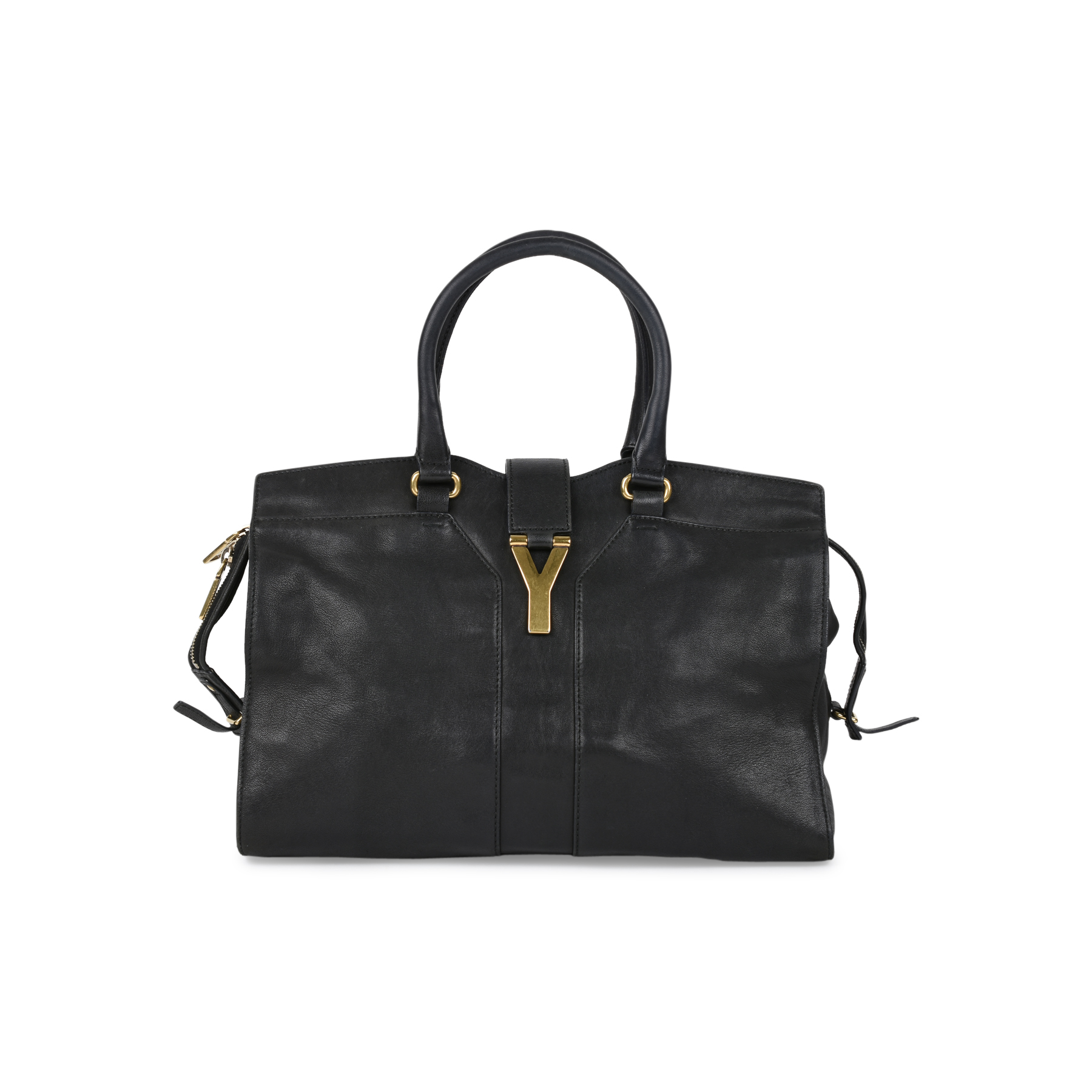 557a66debb Authentic Second Hand Yves Saint Laurent Cabas Chyc Tote (PSS-506-00011) -  THE FIFTH COLLECTION