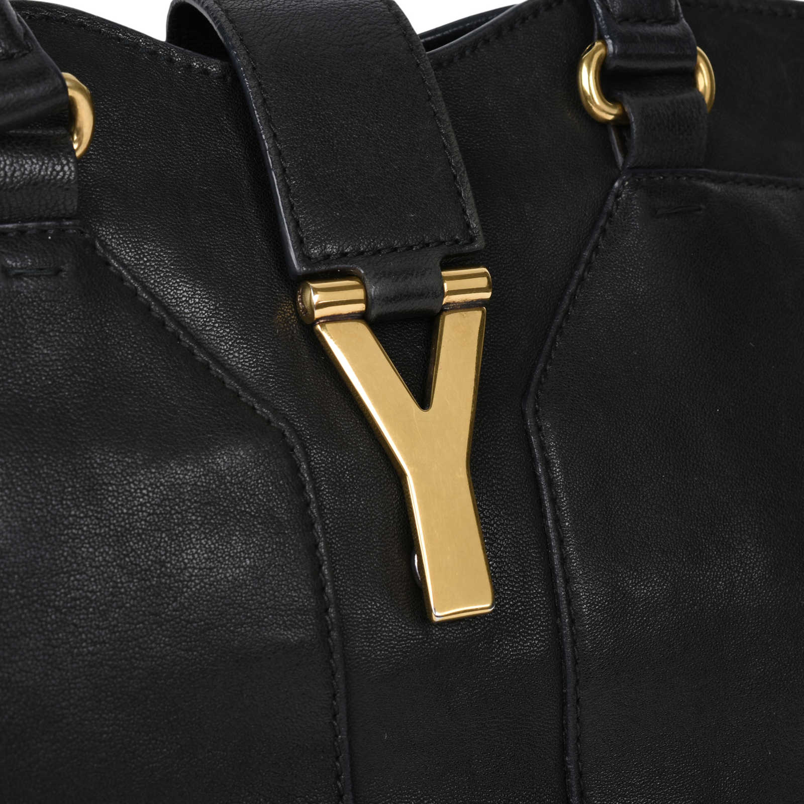 4ce84a692244 ... Authentic Second Hand Yves Saint Laurent Cabas Chyc Tote  (PSS-506-00011) ...