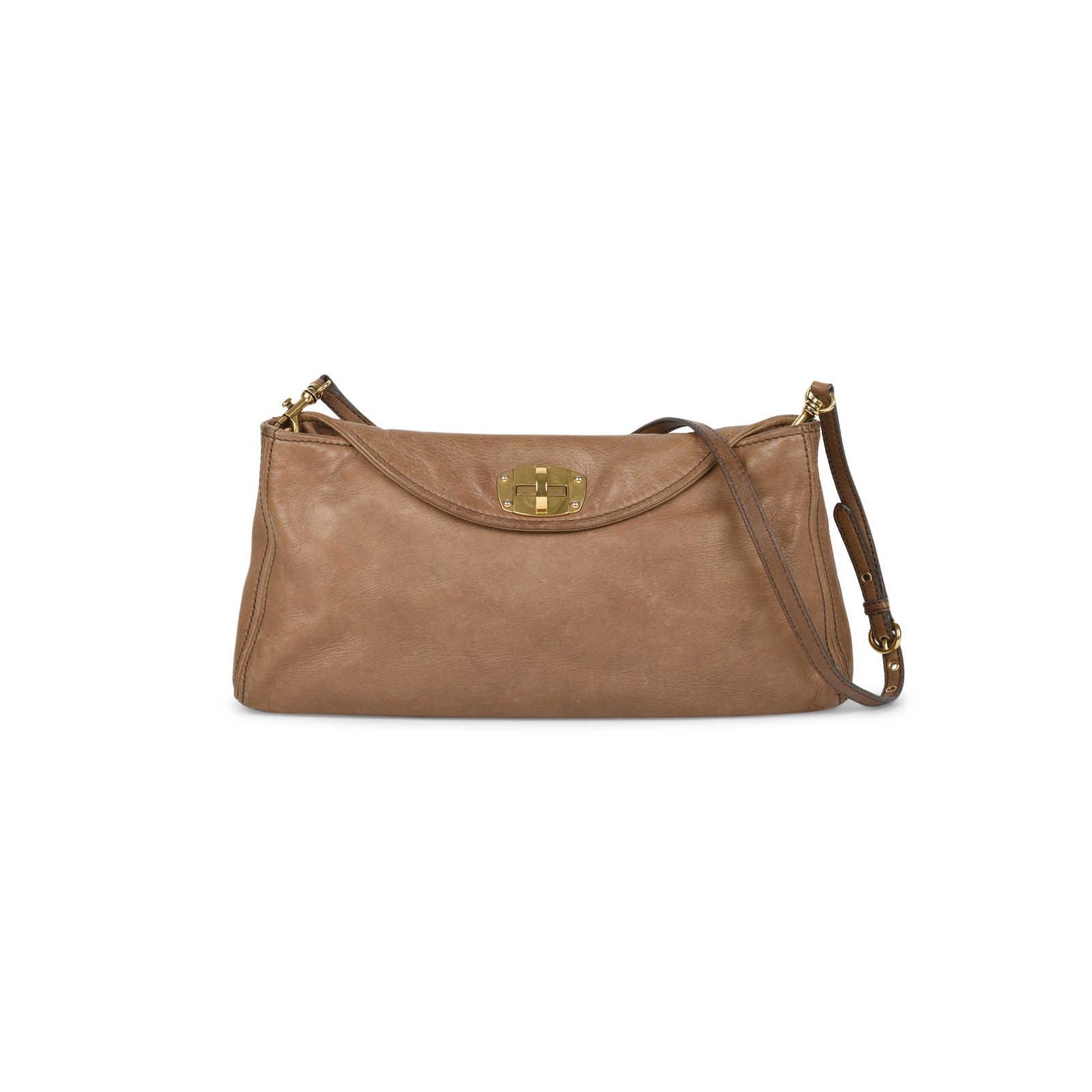 1835531ea0a1 Authentic Second Hand Miu Miu Turn Lock Shoulder Bag (PSS-506-00014) ...