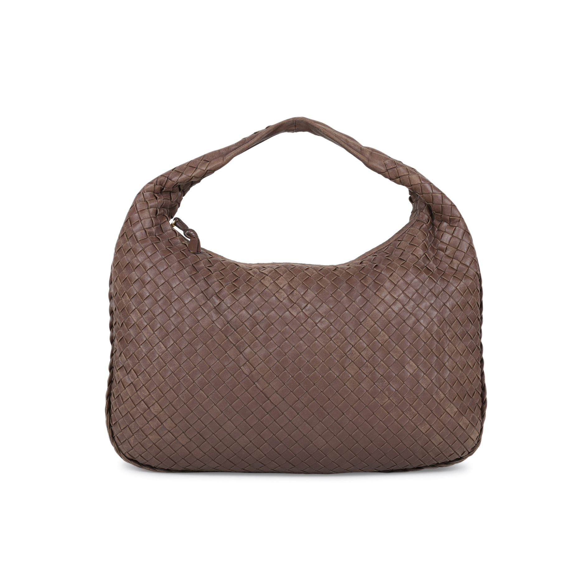 Authentic Pre Owned Bottega Veneta Intrecciato Weave Hobo Bag  (PSS-506-00015)  db9ebf959977