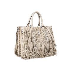 Prada small fringe tote bag 2?1531284059